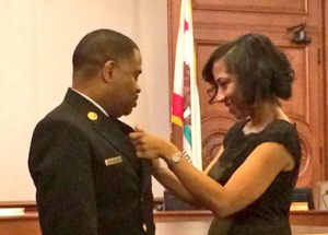 Pasadena Fire Chief Bertral Washington Swearing-In